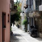 Smale gater i Rethymnon
