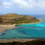 Balos strand og lagune