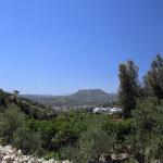 Utsikt over Zaros frå fjellet