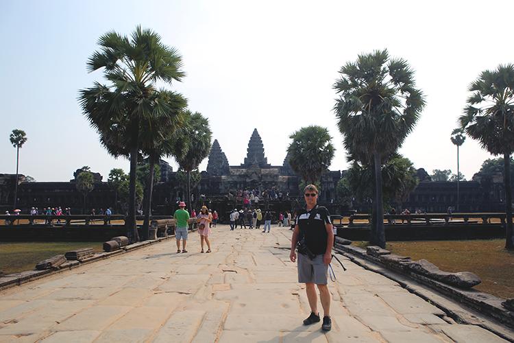 Atle i Angkor Wat